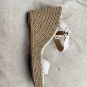Shoes - Women's wedge espadrille shoes size 11